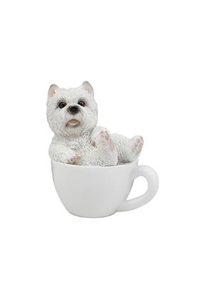 westie in a teacup