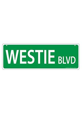 Westie Sign