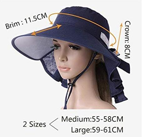 packable sun hat